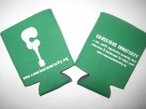 Koozie in Green